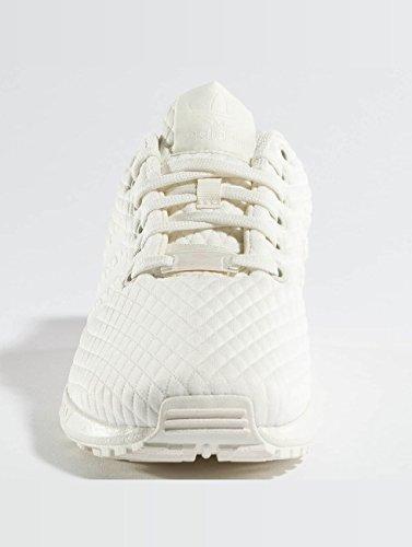 F17 Off Trace Pink adidas ZX Multicolore Off Vert Flux Basses Femme White W Baskets White EU nAnpzaZq