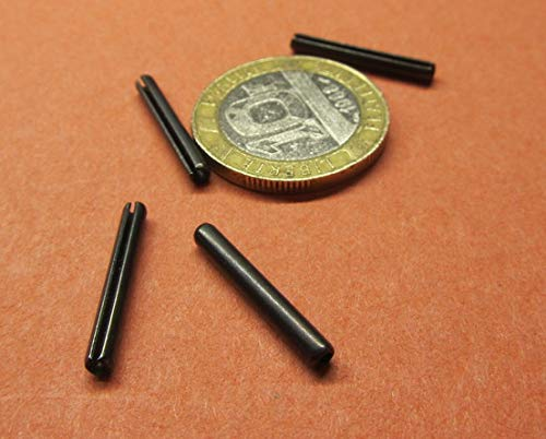 Steel Slotted Spring Pins 500 pcs. 3//32 Diameter x 3//4 Length