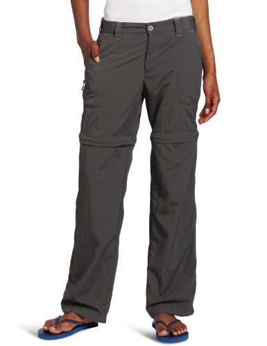 White Sierra Women's Sierra Point 31-Inch Inseam Convertible Pant, Medium, Caviar ()