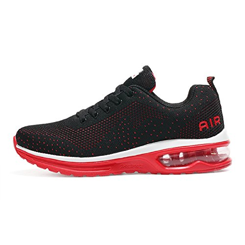 De Sport Tqgold Femme Fitness Chaussure Basket Homme Sneakers Rouge Running Mode B6Bw7qUx