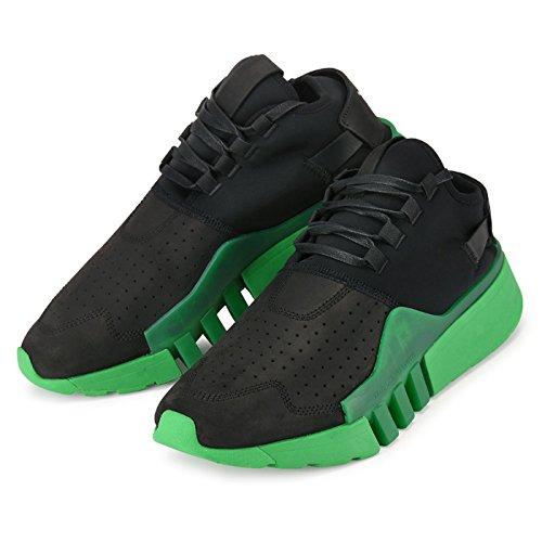 【ワイスリー】 adidas Y-3 AYERO CG3170 Black/Green ヨウジヤマモト アディダス ワイスリー エアロ メンズ スニーカー 黒 【並行輸入品】 B0793M1ZZ8