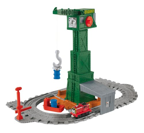 Fisher Price Thomas the Train: Take-n-Play Cranky at the Docks Playset