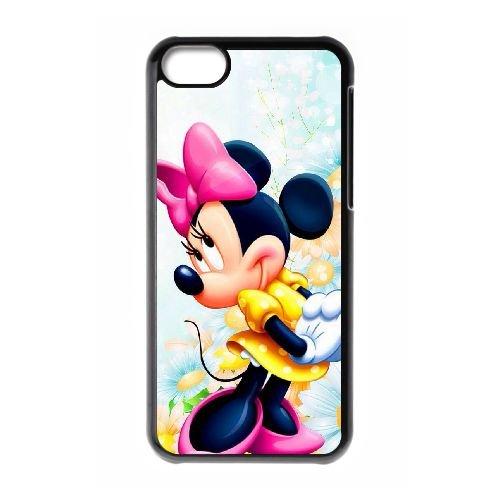 Disney Minnie Mouse QH74EM5 coque iPhone Téléphone cellulaire 5c cas coque H1PX0Y4CM