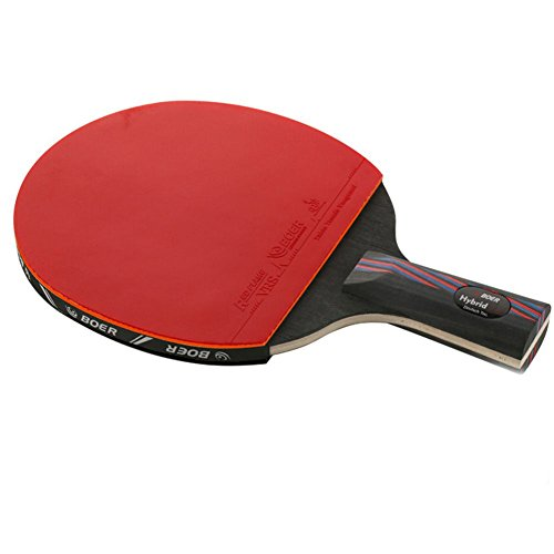 Purchase 5 Star Pro Carbon Table Tennis Racket Advanced Ping Pong Paddle,Best Rubber On Premium Long...