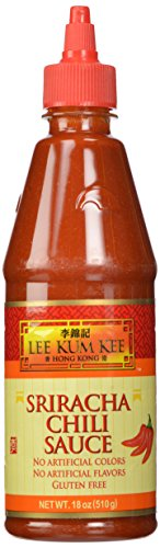 Lee Kum Kee Sriracha Chili Sauce, 18-Ounce Packages (Pack of 12)