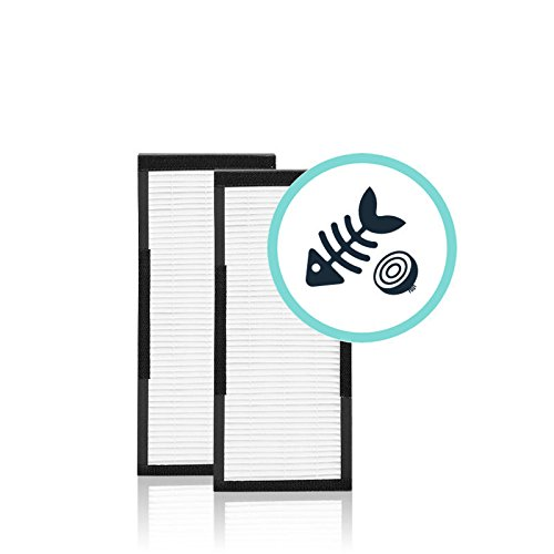 Alen - HEPA-Fresh Filters for Alen T100 and T300 Air Purifiers (2-Pack) - Black TF30