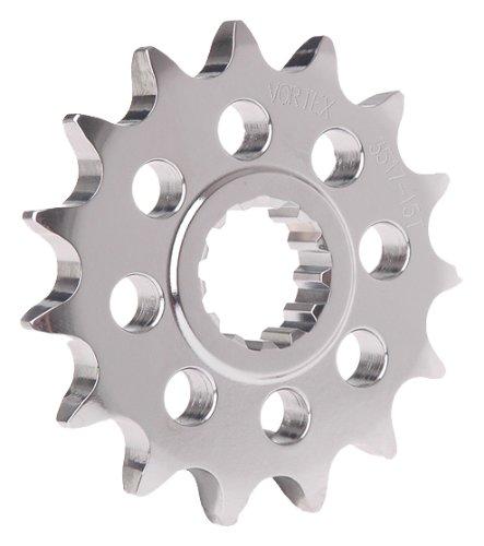 Vortex 520 Front Sprocket (Vortex 3271-15 Silver 15-Tooth 520-Pitch Front Sprocket)