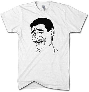 Yao Ming Meme T Shirt Funny Cartoon Basketball Joke Funny Sport Top Men Women