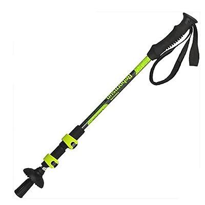 DSZ® Verrouiller Carbon Ultralight extérieur alpinisme bâton droit tige pliage canne contraction de trois Randonnée alpenstock bâtons d'escalade