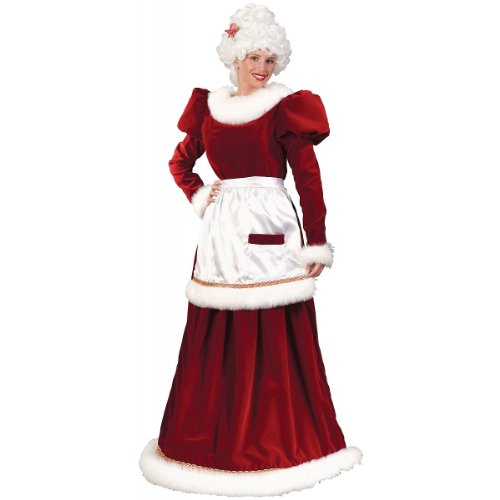 Velvet Mrs. Claus Christmas Costume