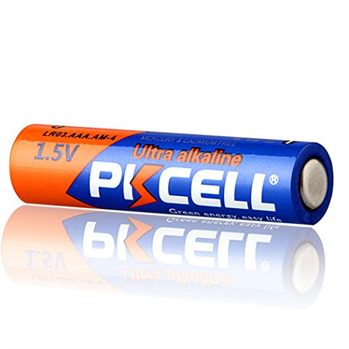 AAA 1.5V LR03 E92 AM4 MN2400 Alkaline Batteries 1600Pcs by PKCELL (Image #3)