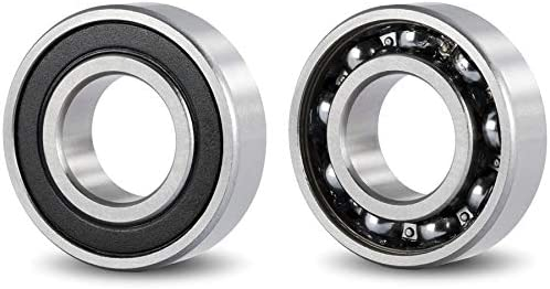 DOJA Industrial  Rodamiento de Bolas 6000 2RS C3   Pack de 2 ...