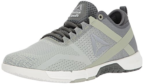 Reebok Women's Crossfit Grace TR Track Shoe, Ironstone/Chalk/Mystic Grey/Silver Metallic, 6 M US (Mystic Womens Training)
