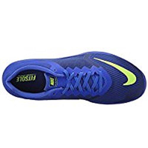 Nike Mens Fs Lite Run 3 Deep Blue Royal / Volt / Racer Blue / White Scarpe Da Corsa, M / 14 D (m) Us