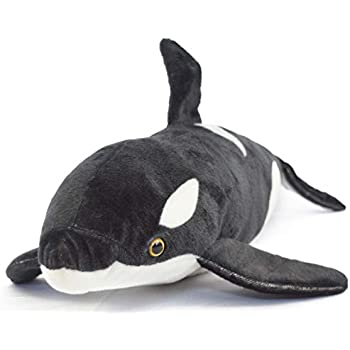 Amazon Com 40 Large Orca Killer Whale Plush Stuffed Animal Toy By