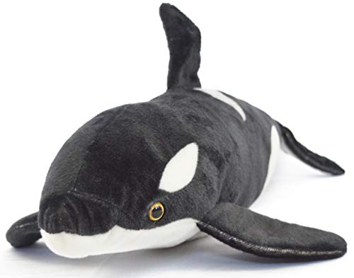 VIAHART Octavius The Orca Blackfish | Over 2 1/2 Foot Long Big Killer Whale Stuffed Animal Plush | by Tiger Tale Toys (Show Me A Ruler With Inches And Centimeters)