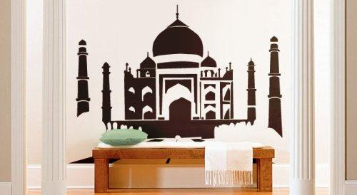 Amazon.com Vinyl Wall Art Decal Sticker India Taj Mahal Silhouette Automotive  sc 1 st  Amazon.com & Amazon.com: Vinyl Wall Art Decal Sticker India Taj Mahal Silhouette ...