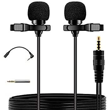 ... mini Omnidirectional Condenser lapel clip on mic interview for Apple Iphone,Ipad,Ipod,Android,PC,Recording Youtube,Interview,Video Conference, Podcast