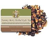 Yummy Berry Caffeine Free Herbal Kids Tea - Loose Leaf - 16oz