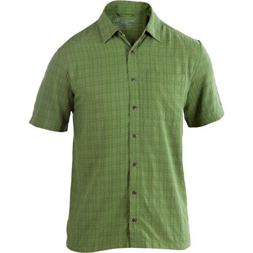 5.11 Tactical Men's Covert Shirt Select S/S (L, Jungle) ()