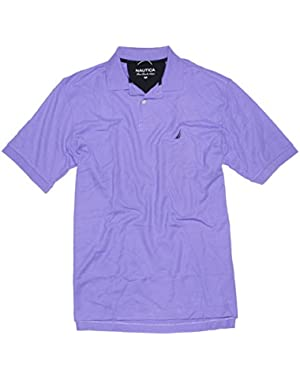 Mens Fca Deck Solid Polo