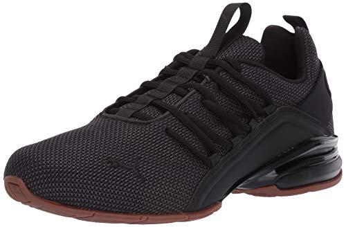 PUMA Men's Axelion Sneaker, Black, 11.5 M - Train Puma