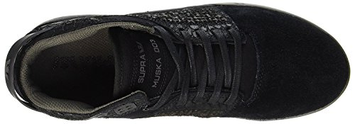 Supra Skytop S18185 Herren Sneaker Black / Black / Charcoal