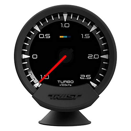 (GReddy 16001730 Sensor (Sirius Meter - Turbo Boost 74Mm Analog Display Gauge (W/Boost & Harness)