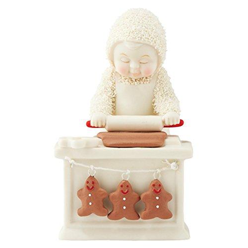 Department 56 Snowbabies Cookie Prep Porcelain Figurine, 4.33