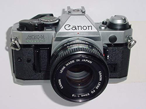 Canon AE-1 Program 35mm Manual Focus Film Camera - Lens - Flash Combo