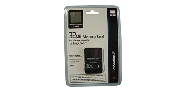Amazon.com: Playstation 2 Memory Card 32MB: Video Games