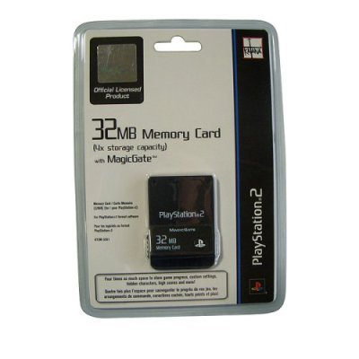 Amazon com: Playstation 2 Memory Card 32MB: Video Games