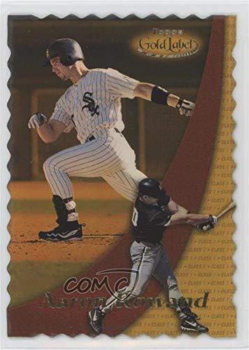 Gold 2000 Label Topps - Aaron Rowand #58/100 (Baseball Card) 2000 Topps Gold Label - [Base] - Class 1 Gold #98
