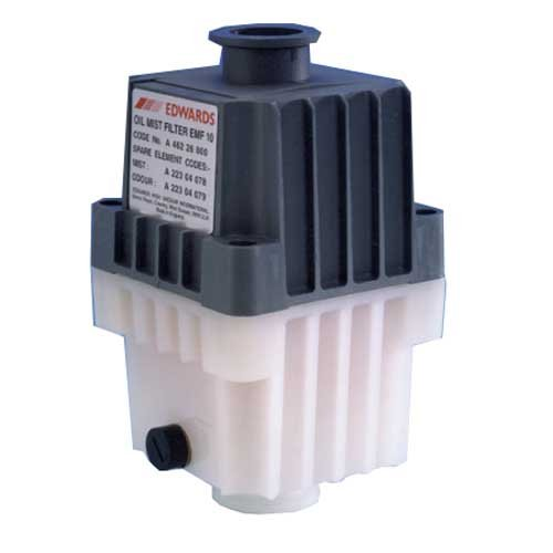 EDWARDS VACUUM A462-26-000 Model EMF10 Oil Mist Filter, 6.72'' Height, 3.81'' Length by EDWARDS VACUUM.