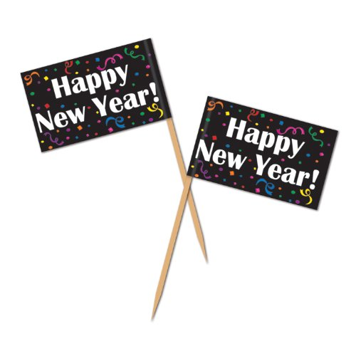 Happy New Year Picks Party Accessory