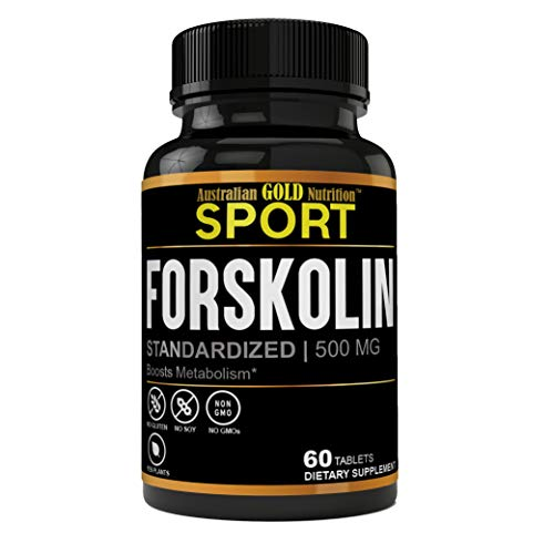 Effective & Safe Weight Loss Pure Forskolin Extract 500mg, 40% Standardized Forskolin for Weight Loss | Effective Appetite Suppressant, Carb Blocker & Max Strength Weight Loss Pills for Women & Men