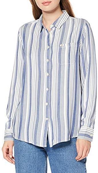 Lee One Pocket Shirt, Camiseta Mujer, Azul (Beyond Blue Kt ...