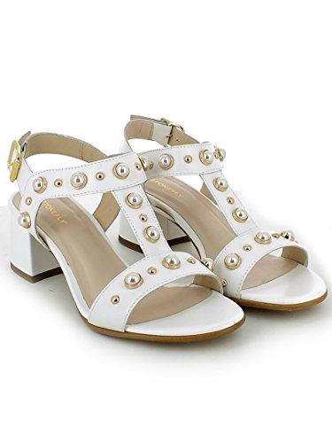 Sandalo Bianco Stonefly Donna 110490 Tacco 1w05B