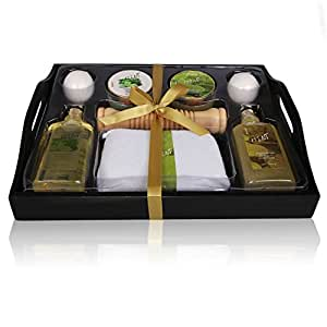 Christmas Gift For Her Spa Gift Basket Refreshing Fragrance Enriched with Natural Argan Oil, Perfect.