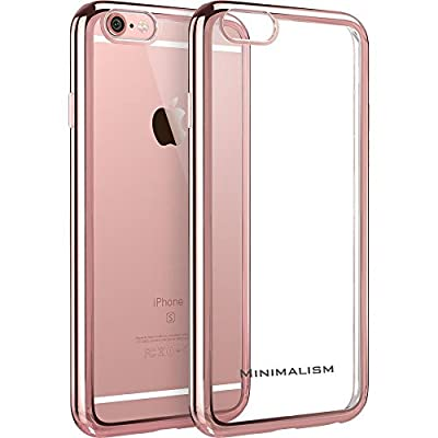 iPhone 6 case,MINIMALISM(TM) [Twinkler Series] [Scratch Resistant] Premium Flexible Soft TPU Bumper Silicone Case with Electroplate Frame Fit for iPhone 6 & iPhone 6s (4.7 inches) from MINIMALISM