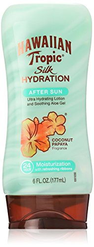 Hawaiian Tropic Silk Hydration Moisturizing Sun Care After Sun Lotion – Coconut Papaya, 6 Ounce