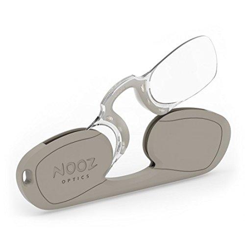 Nooz - Armless Reading Glasses - Beige +1,5 Rectangular - Wherever you go