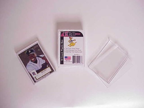 - Pro-Mold 10 Card Holder or Super Thick (180pt) 2-Piece Mini-Snap Plastic Display (PC10) by pro mold