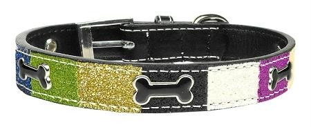 Mirage Pet Products Ice Cream Dog Collar Not Applicable Blue Bones