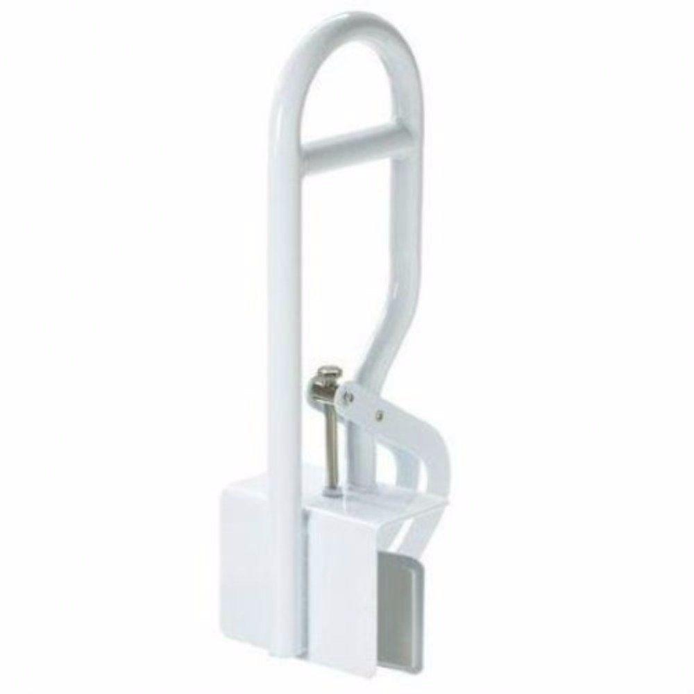 Bath Safety Bar Bathtub Rail Grab White Bathroom Shower Handle Tub 14'' Adjust
