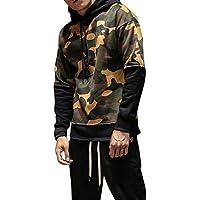Hot Sale! Men Hoodies,Canserin Mens Fashion Warm Camouflage Jacket Hooded Winter Coat Overcoat Outwear