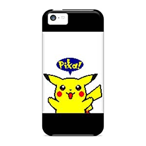 New Cute Funny Pokemon Yellow Edition Case Cover/ Iphone 5c Case Cover