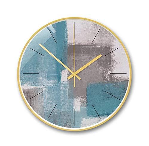 Shioya house 静かな掛け時計、スタイリッシュで創造的な装飾的な掛け時計、リビングルームの寝室の掛け時計、静かな雰囲気を作り出す、絶妙なアート掛け時計 ご愛顧ありがとうございました   B07QXQ5DTB