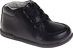 Josmo Unisex Walking Shoes, Black, 4.5 W US Toddler
