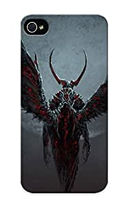 High Quality Tpu Case/ Demon Wings Witxkl-3405-xxzfpsi Case Cover For Iphone 5/5s For New Year's Day's Gift